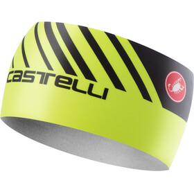 Castelli Arrivo 3 Thermo Headband yelloe fluo